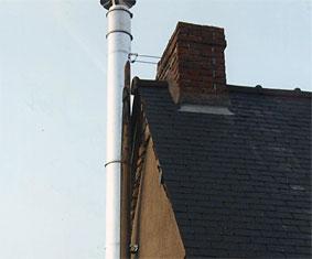 Cheminees garnier fabrication et installation de - Reglementation conduit de cheminee exterieur ...